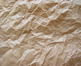 crumpled paper brown poster