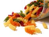 colorful pasta jar poster