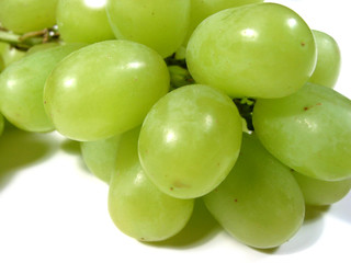 green grapes macro 1