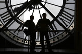 clock at the orsay museum poster
