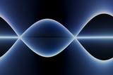 digital sinewaves poster