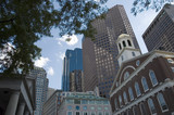 boston skylines poster