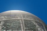 futuristic dome details poster