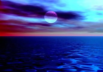the night sea.