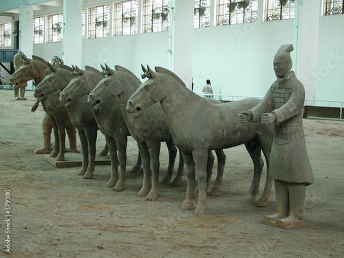Papiers peints Xian charioteer