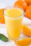 orange juice poster