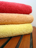 towel stack 6 poster