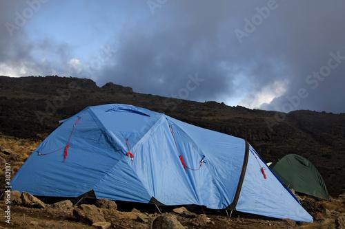 Keuken foto achterwand Paardebloemen en water kilimanjaro 017 karango camp tent