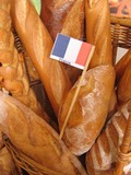 french baguettes poster