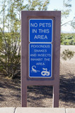 warning sign 1 poster
