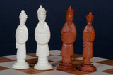 chinese chess set royalty poster