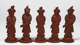 pawns from chinese chess set poster