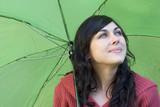 umbrella woman poster