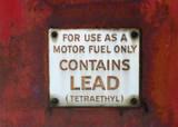 gasoline warning poster