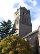 Leinwandbild Motiv auld steeple in autumn, dundee