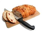 bread knife board poster
