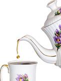 tea drop poster