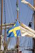 segelschiff mit flagge