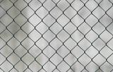 chicken-wire background poster
