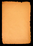 old paper blank page poster