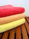 towel stack 2 poster