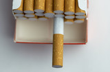cigarette pack in macro poster