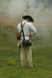 colonial militiaman--revolutionary war reenactment