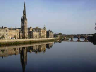 perth and the river tay, scotland