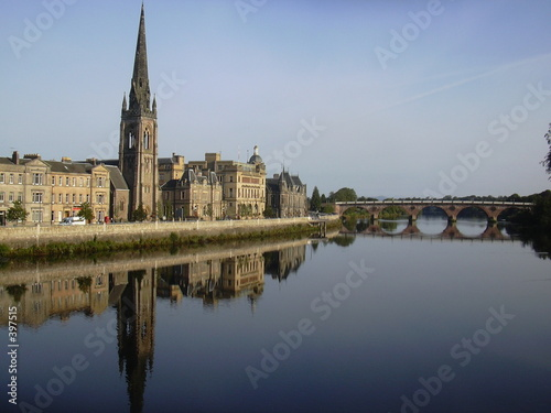 perth and the river tay, scotland