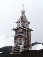russian ortodox church in king george island