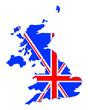 carte de l' uk