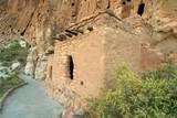 anasazi cliff dwellings poster