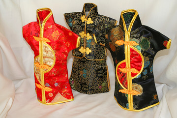 three kimonos