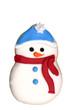 cookie - snowman