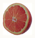 orange half poster