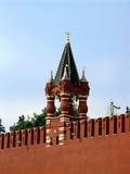 moscow. tower of the moscow kremlin poster