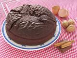 homemade chocolate cake poster
