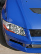 Постер, плакат: mitsubishi evolution vii handlight in blue