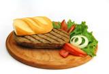 meat sandwich poster