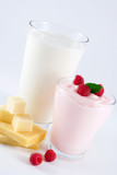 milk, yogurt, cheese poster