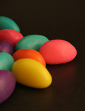 pile of easter egg candy poster