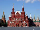 red square, moscow, russia poster