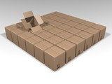 packaging boxes poster
