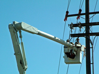 utility, workers,