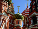 st. basil cathedral, moscow, russia poster
