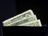 bills in wallet poster