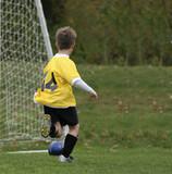 soccer kid poster
