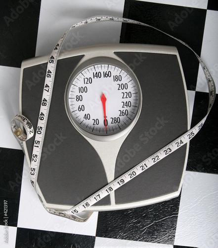 Leinwandbild Motiv how do you measure up?