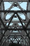 bay bridge abstract poster