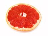 grapefruit half poster